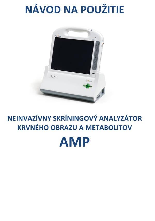 AMP blood analyzer analyser user guide